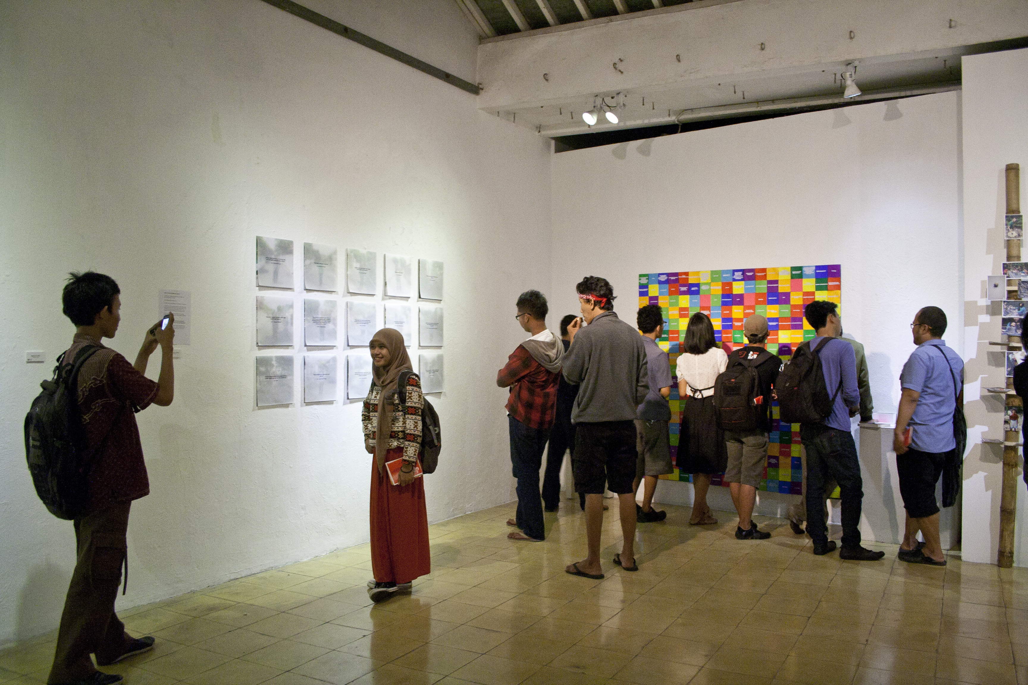 Exhibition at Cemeti Art House