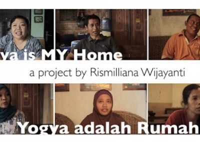 Yogya is my Home banner from the video